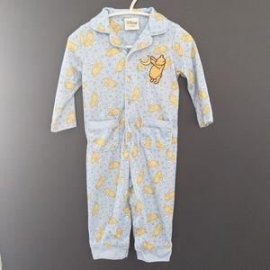 Disney Winnie the Pooh one piece pajamas